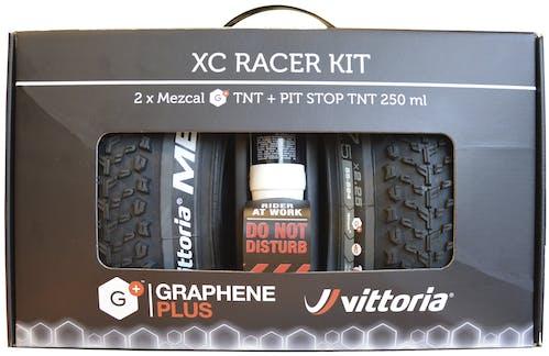 Vittoria Mezcal TNT 29 x 2,25 Kit (Paar) MTB-Reifen + Pit Stop TNT Dichtflüssigkeit