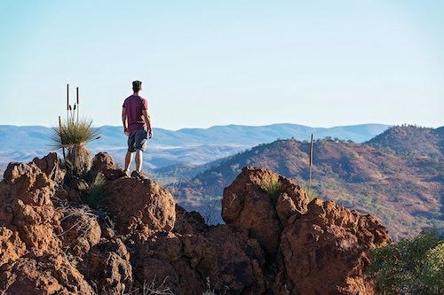 Aussicht am Explorer's Way in Australien