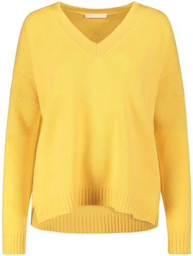 Cashmere-Pullover von (The Mercer) N.Y., Aspen Gold, Lemon Verbena, Lodenfrey, Munich