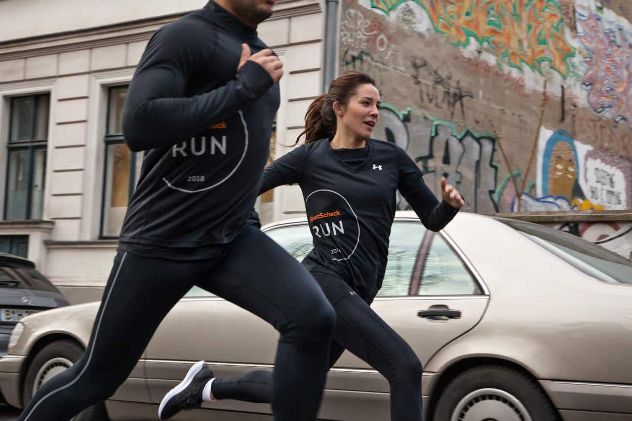 Läufer beim SportScheck RUN