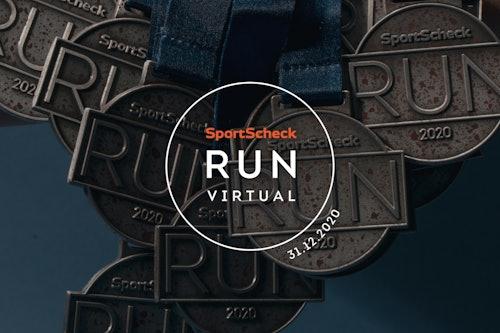 SportScheck Virtual Run 2020 Medaillen
