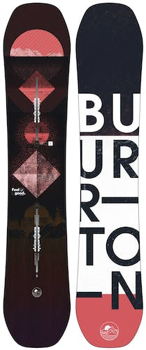 BURTON Feelgood Flying V - Snowboard - Damen