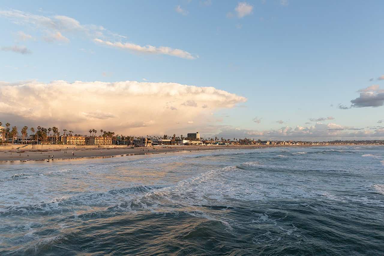 Strand in San Diego