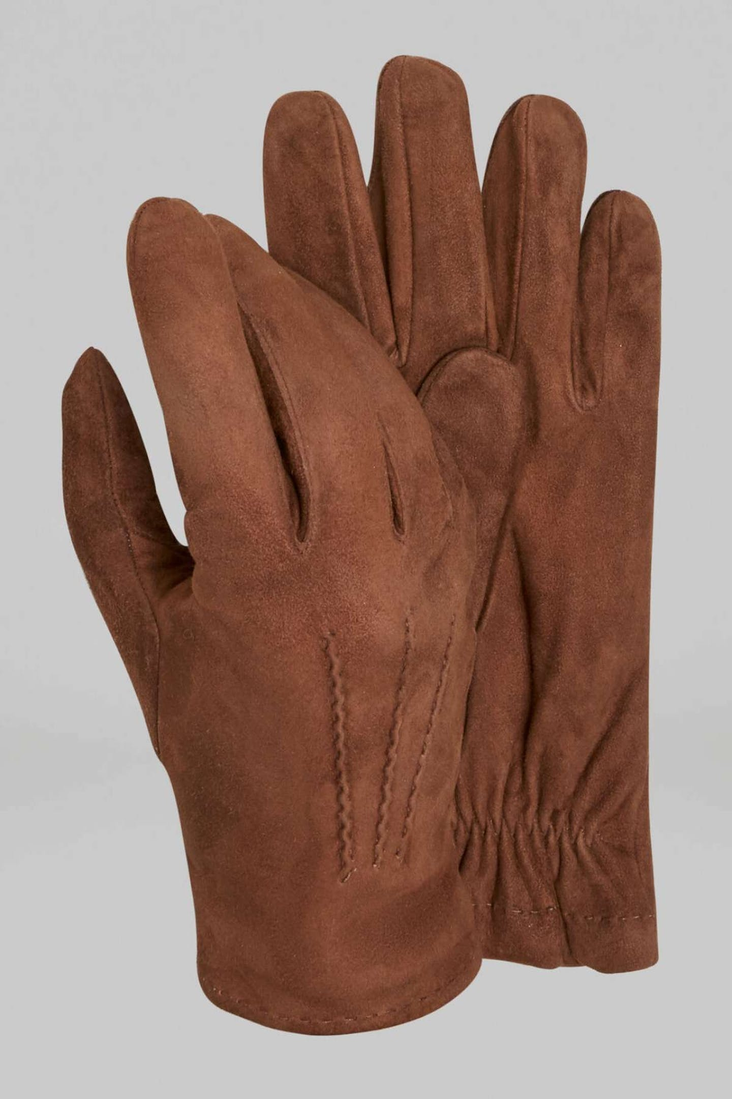 best Christmas presents for Dads suede leather gloves by Boggi Milano