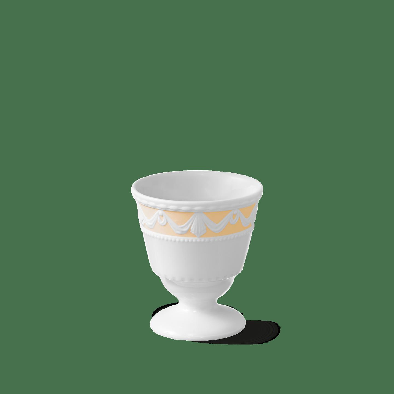 Eierbecher, KURLAND BLANC NOUVEAU, Pastell Mandarine