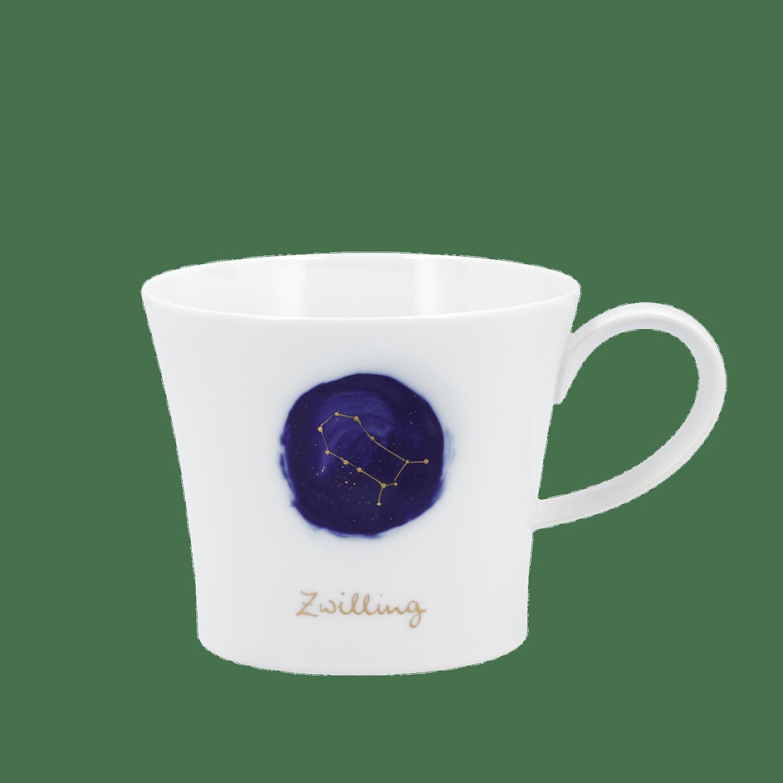 Frühstückstasse, BERLIN, Sternzeichen ZWILLING