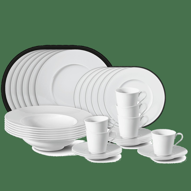 Dinner-Set, URANIA, 30-teilig (6 Personen)