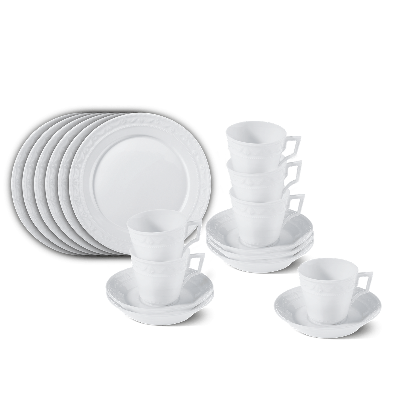 Frühstücks-Set, KURLAND, 18-teilig (6 Personen)