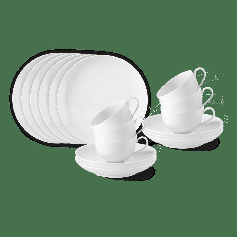 Frühstücks-Set, URBINO, 18-teilig (6 Personen)