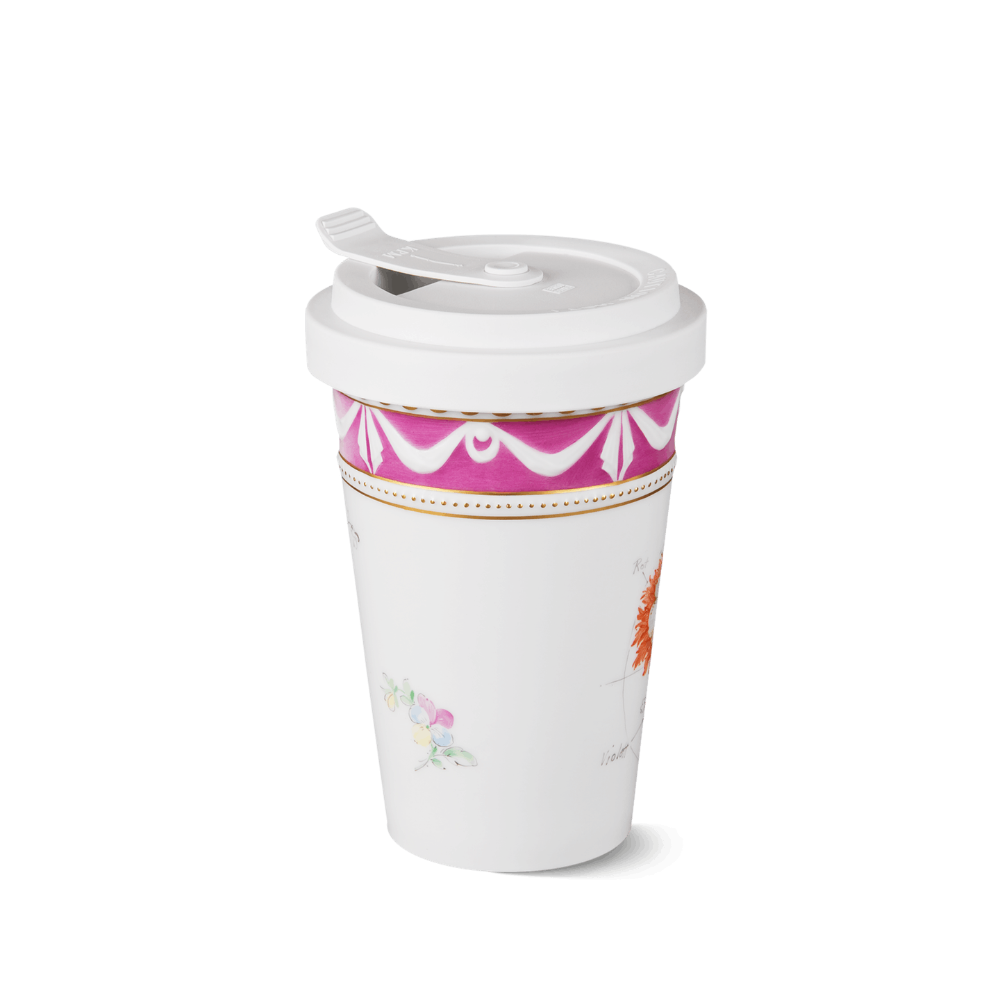 "To-go Becher, KURLAND, Heritage Edition ""Blume"""