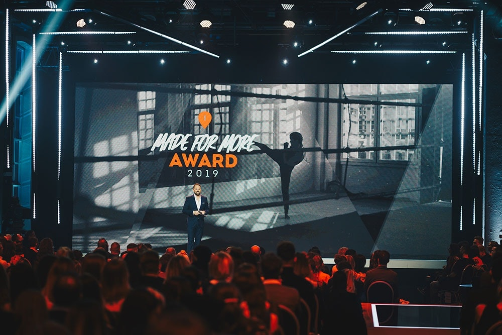 Steven Gätjen Made for More Award