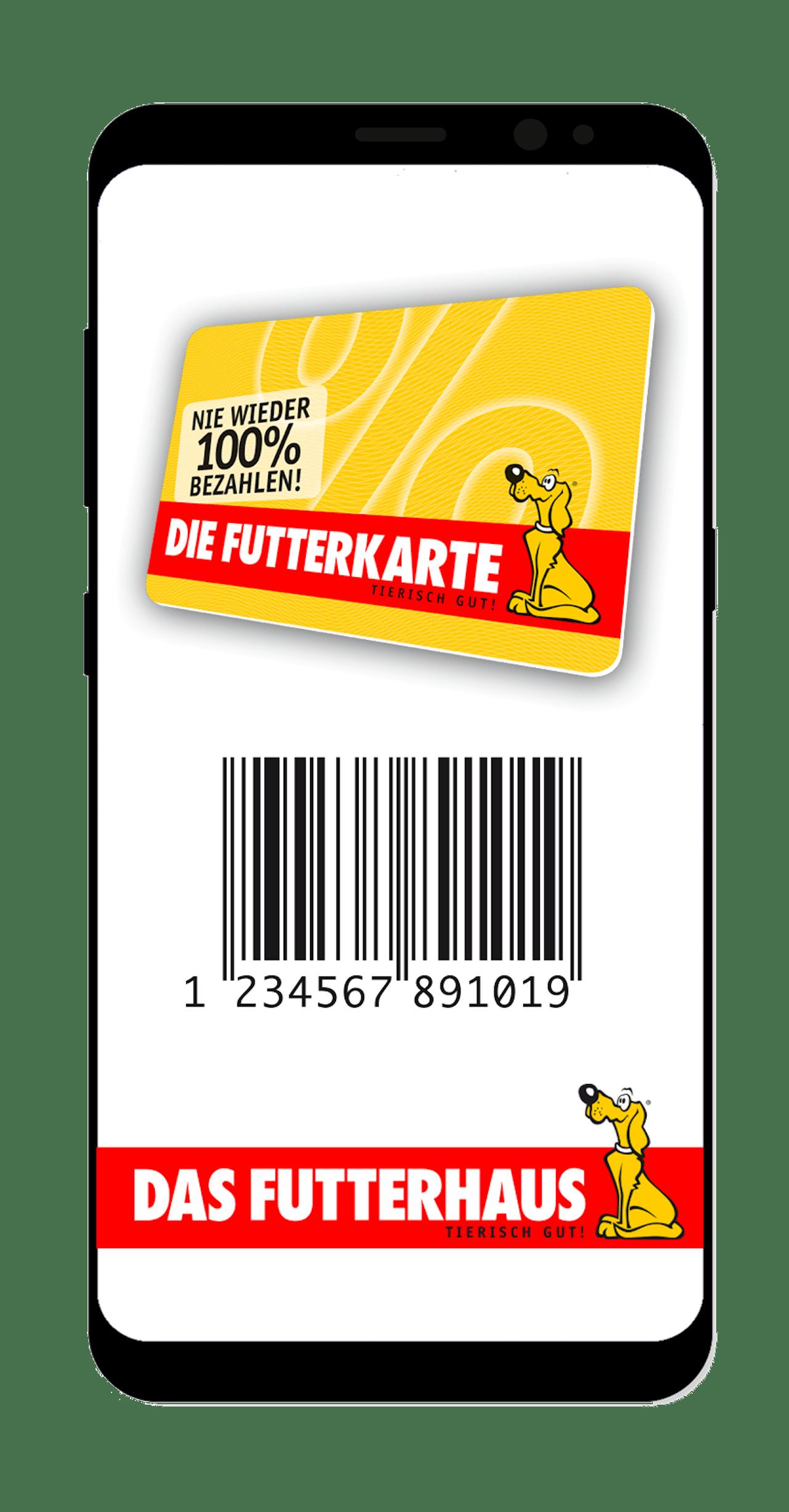 Die digitale FUTTERKARTE von DAS FUTTERHAUS