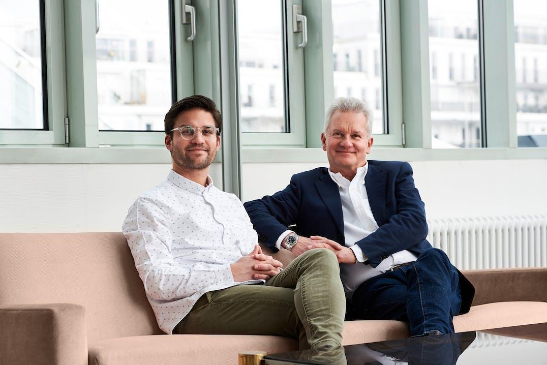 Vater und Sohn: Thomas und Gregor Tretter