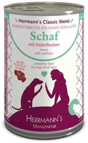 Herrmann's Nassfutter Schaf mit Haferflocken