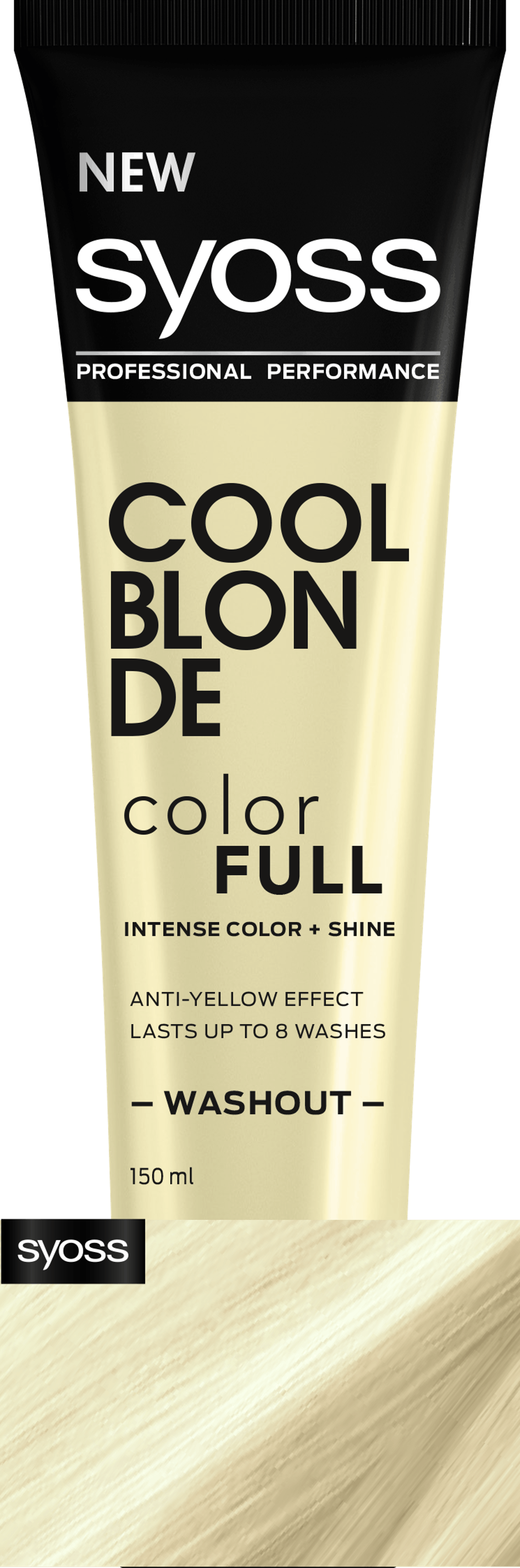 Syoss Cool Blonde Color Full