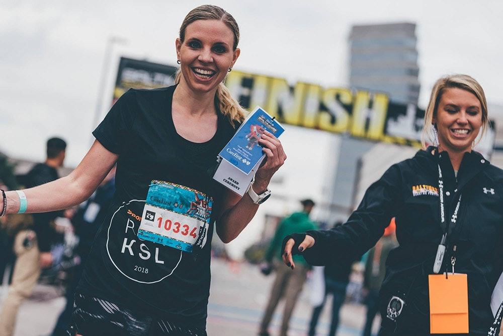 Anna Starostzik wird Zweite beim Halbmarathon in Baltimore