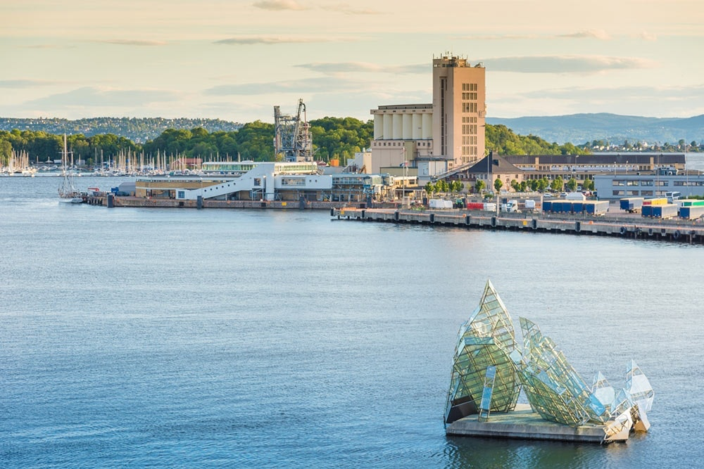 Bucht von Oslo