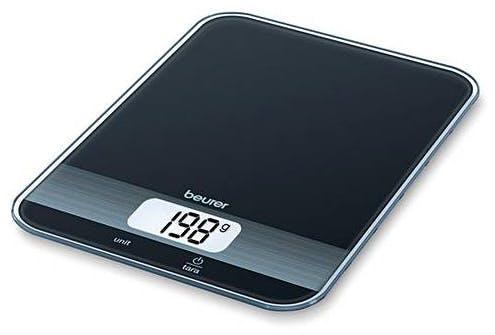 Beurer Black Glass Kitchen Scale