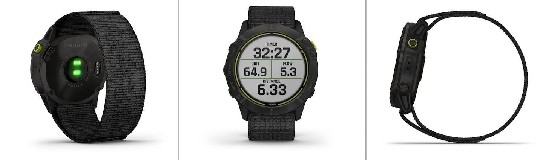 Enduro GPS Multisportuhr von verschiedenen Seiten