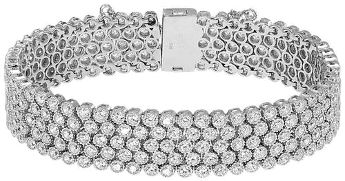 Bracelet CLEOR Argent 925/1000 Oxyde Blanc