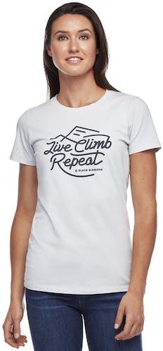 Black Diamond Live Climb Repeat - Damen-T-Shirt