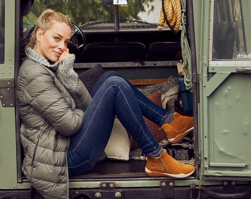 Schuhe mit Reißverschluss