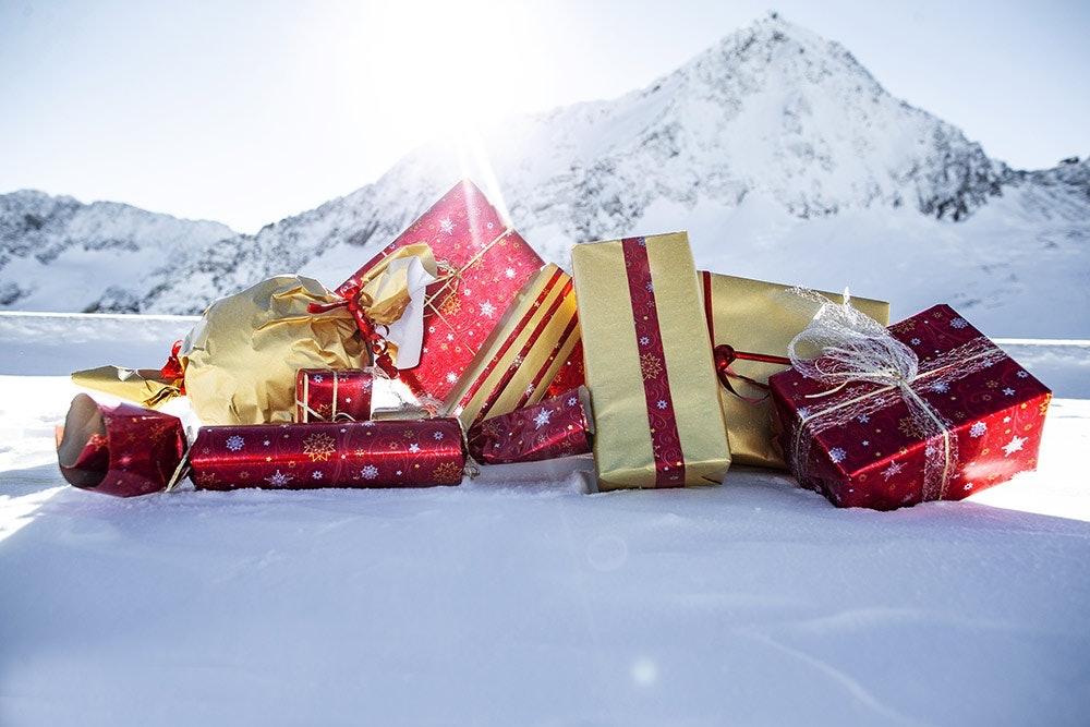 Weihnachtsgeschenke im Adventskalender