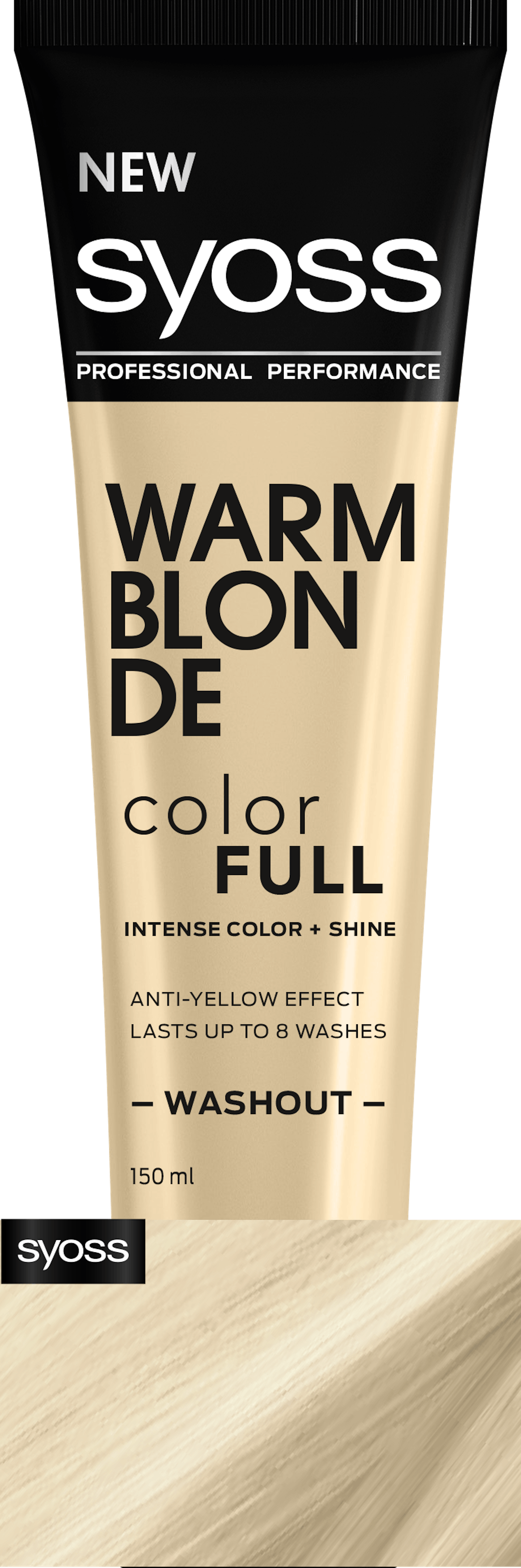 Syoss Warm Blonde Color Full