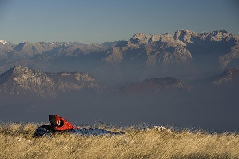 Aufgewacht, aufgewacht. Was gibt es schöneres, als ein Stück Berg für sich allein zu haben?