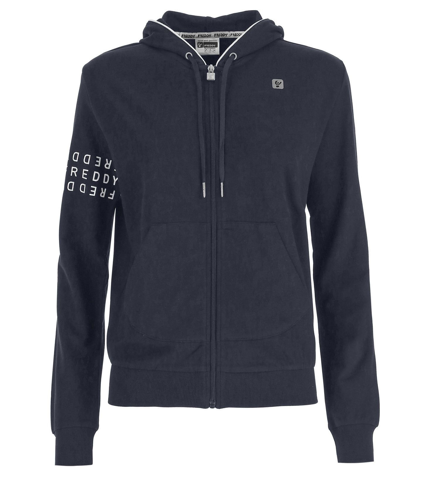 Freddy Light French Terry - giacca sportiva con zip - donna