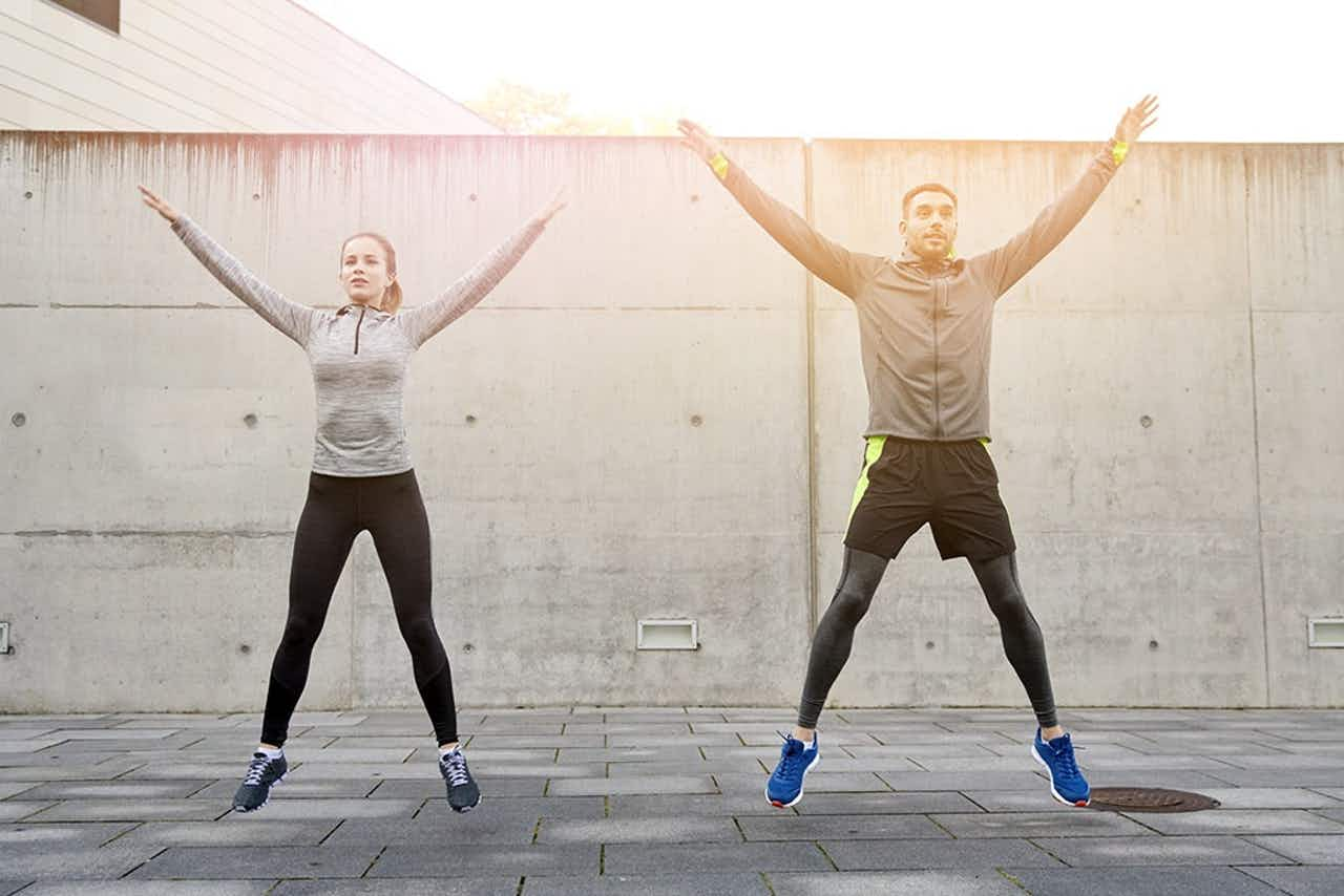 Fitness Couple Warmup