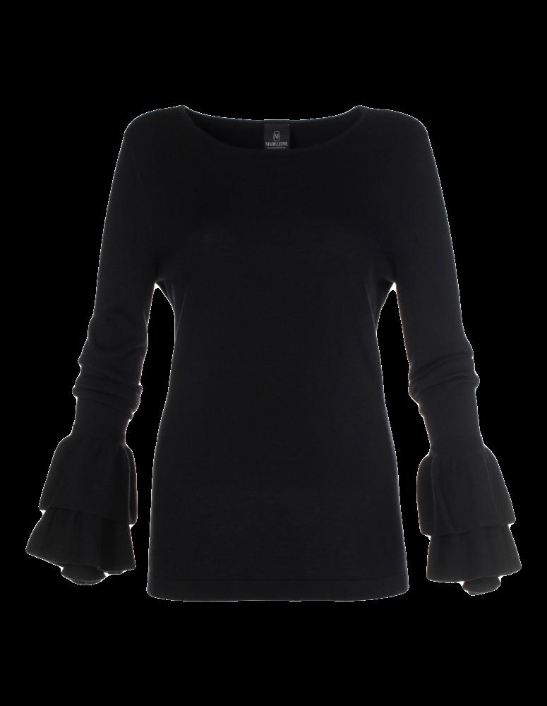 Strick-Pullover aus Merinowolle