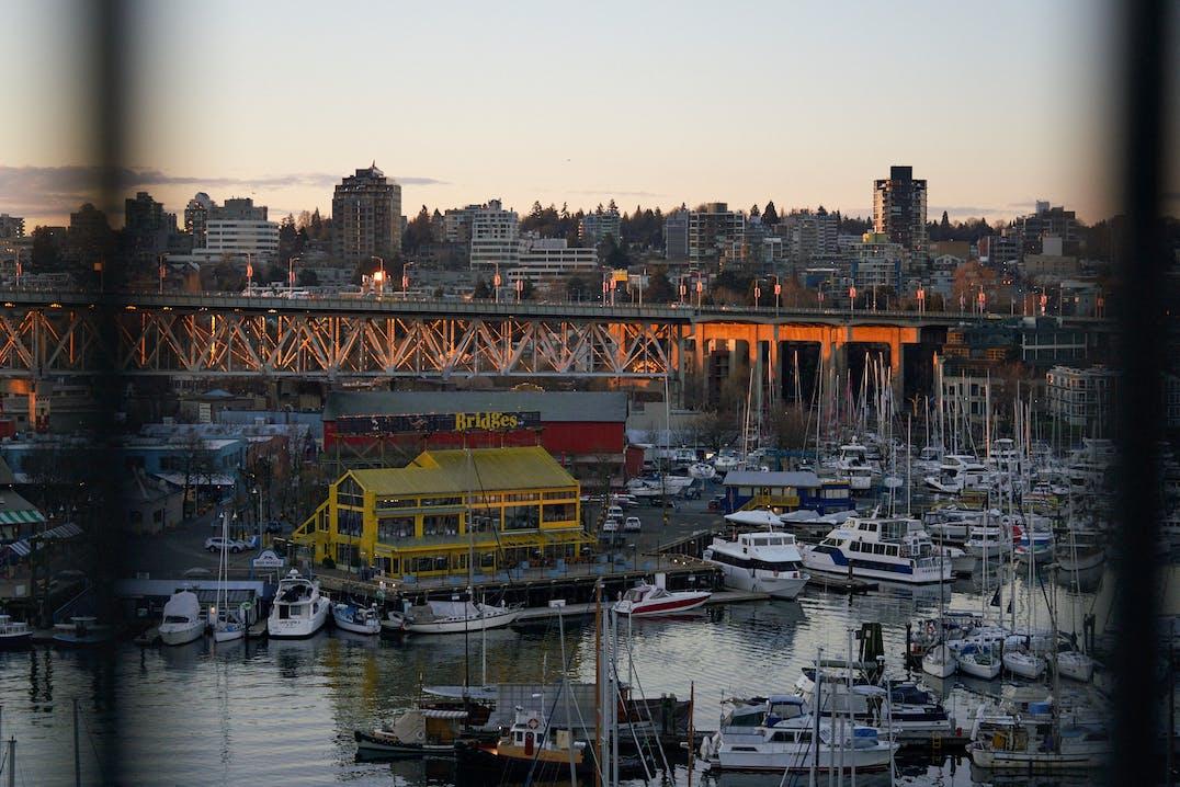 Vancouver Hafen