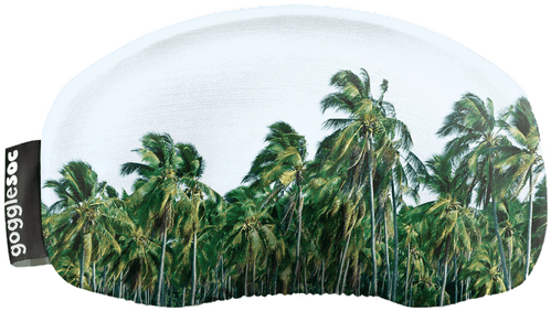 Gogglesoc - Schutzüberzug für Skibrillen - Design: palm