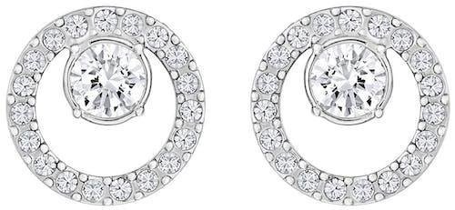 Boucles d'oreilles SWAROVSKI en Métal et Cristal