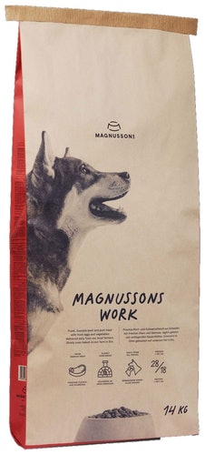 Magnusson - Trockenfutter - Work