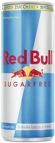 Lattina di Red Bull senza zuccheri