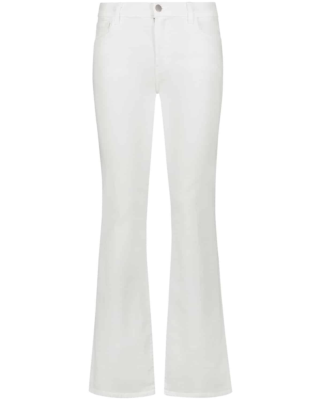 J Brand, Bootcut, White Jeans, Denim, Lodenfrey, Munich