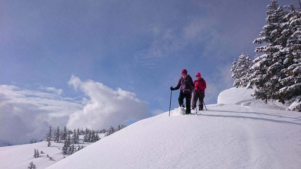 Saalfelden-Leogang-Schneeschuhwandern