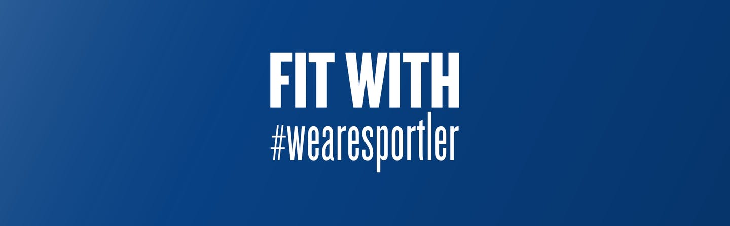 Fit with #wearesportler