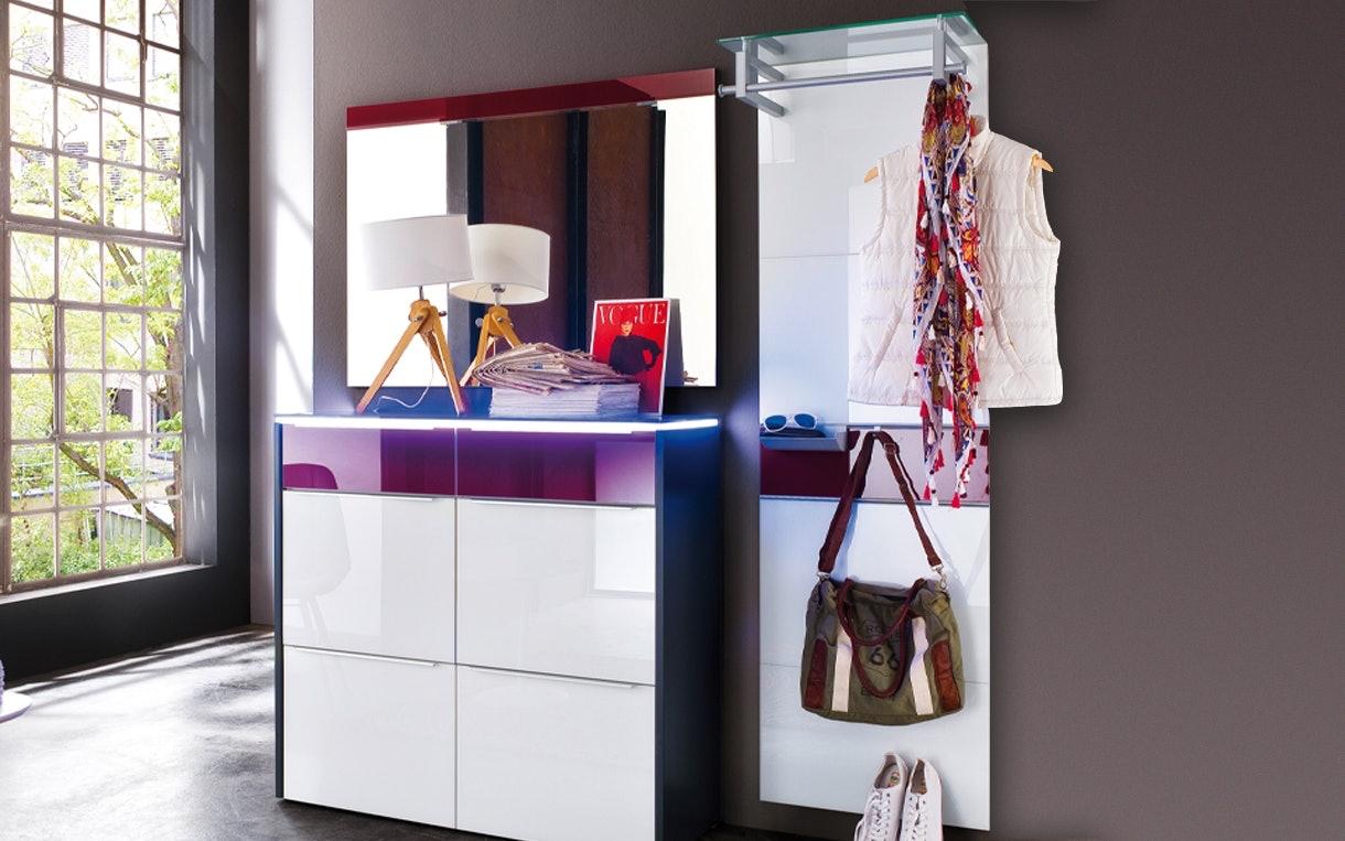 Garderobenkombination Gloss