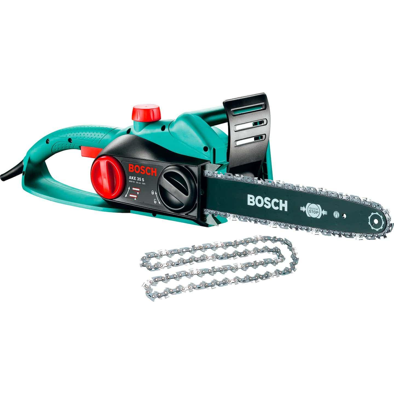 Bosch Elektrická řetězová pila AKE 35 S s náhradním řetězem