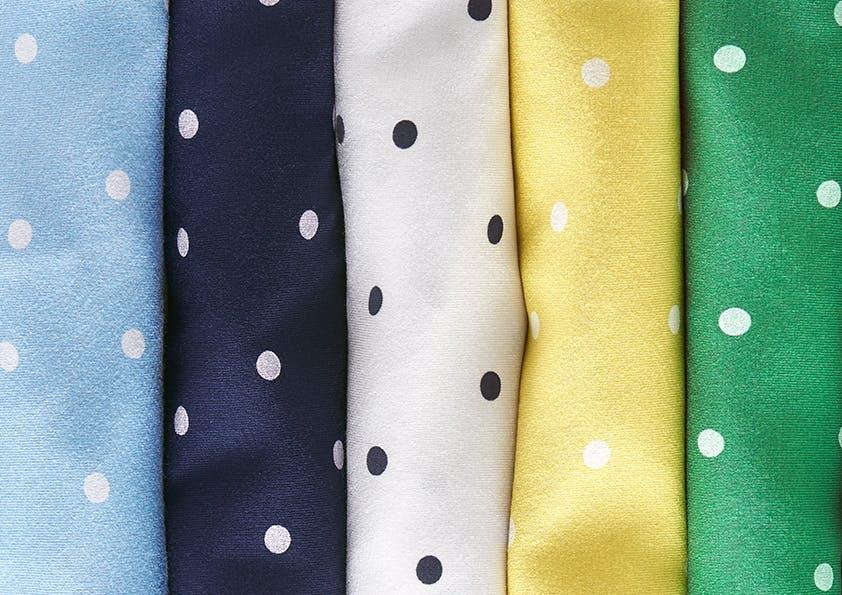 Polka Dots_Pünktchen Muster in verschiedenen Farben