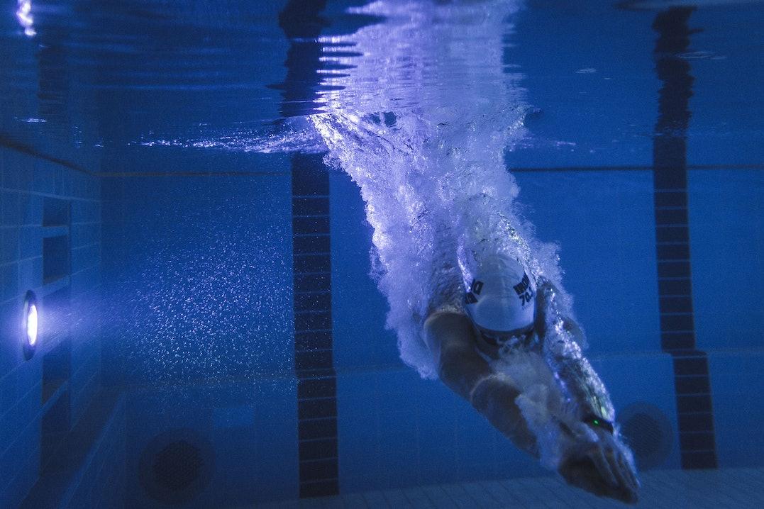 Ironman Training Schwimmen