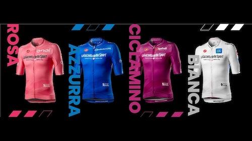 Maglie leader 2020 Giro d'Itlaia