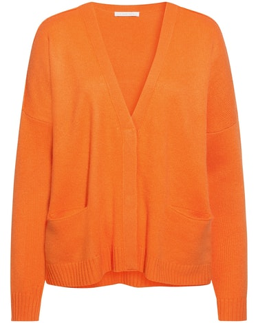 (The Mercer) N.Y., Cashmere-Strickjacke, Orange Trend 2019, Lodenfrey, Munich