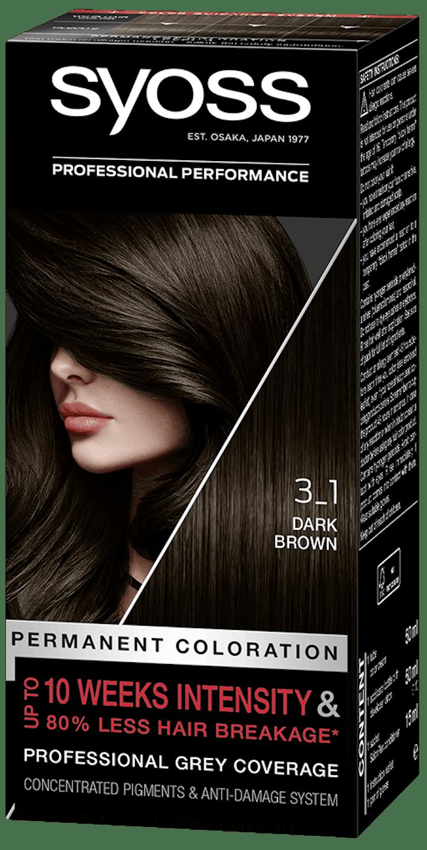Syoss дълготрайна боя за коса Тъмно кафяв 3_1 pack shot