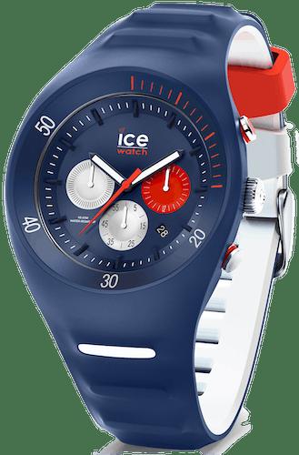 Cette montre ICE-WATCH se compose d'un boîtier Rond de 46.5 mm et d'un bracelet en Silicone Bleu