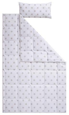 Kinderbettdecke + Kopfkissen, »Stern«, Lüttenhütt, normal, Material Füllung: Kunstfaser
