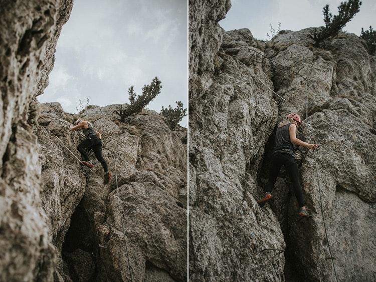 Klettersteigen für Beginner